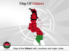 Malawi PowerPoint map
