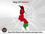 Malawi Map (PPT) Powerpoint Template
