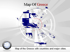 Greece PowerPoint map