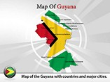 Guyana Map (PPT) Powerpoint Template