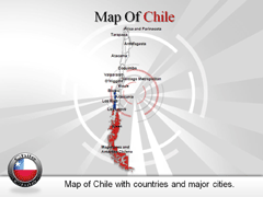 Chile PowerPoint map