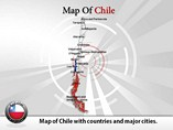 Chile Map (PPT)Powerpoint Template