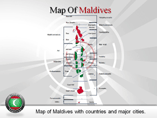 Maldives Map Powerpoint Template