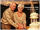 50th Wedding Anniversary Powerpoint Template