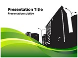 City Silhouette (PPT)Powerpoint Template
