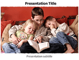 Reading Book (PPT)Powerpoint Template