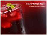 Beverage Powerpoint Template