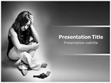 Depression (PPT)Powerpoint Template