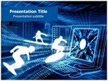 Virtual (PPT)Powerpoint Template