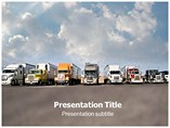 Transport Air (PPT) PowerPoint Template