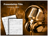 Music Paradise (PPT)Powerpoint Template