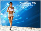 Running (PPT)Powerpoint Template