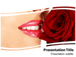 Sweetheart Rose (PPT)Powerpoint Template
