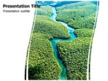 river powerpoint template