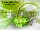 Green Day powerpoint template