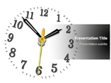 Wall Clock PowerPoint Slides