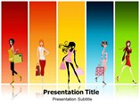 Fashion Girls Accessories PowerPoint-Template