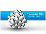 3 dimensional powerpoint Templates