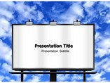 Advertising Poster PowerPoint Theme