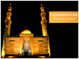 Islam Religion PowerPoint-template