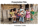 poverty powerpoint template