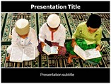 Islam Followers Powerpoint Templates
