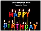 Happy Birthday Powerpoint Templates