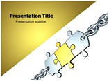 Value Chain Model PowerPoint Background