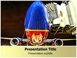 Southwest Airlines PowerPoint Background