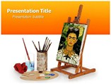 Powerpoint Templates on Frida Kahlo