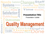 Quality Management Template PowerPoint