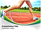 Sport Shoes Benefits Powerpoint Template