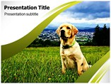 animal powerpoint template-Dogs