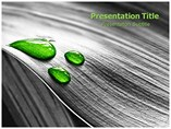 Green Drop Powerpoint Template
