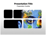 Green Earth Design Powerpoint Template