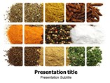 Herbs and Spices Powerpoint Template