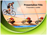 Cycling Powerpoint Template
