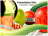 Powerpoint Template on Diet
