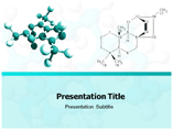 Free PPT Templates Download Molecule
