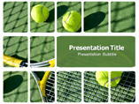 Free PPT Templates Download Tennis