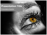 Free PPT Templates Download Eyes