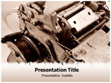 Free PPT Templates Download Mechanical