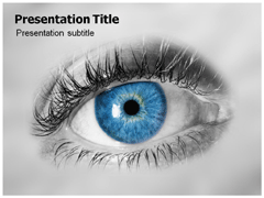 Ophthalmology ophthalmology powerpoint template 02458 toneelgroepblik Choice Image