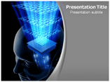 Computer Brain Powerpoint Template