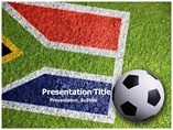 South Africa Football Powerpoint Template