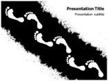 Footprint Powerpoint Template