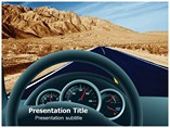 Car Inside Powerpoint Template