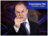Anger Template PowerPoint
