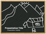 Education powerpoint themes - Child Drawing