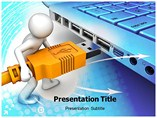 Input Output Device Powerpoint Template